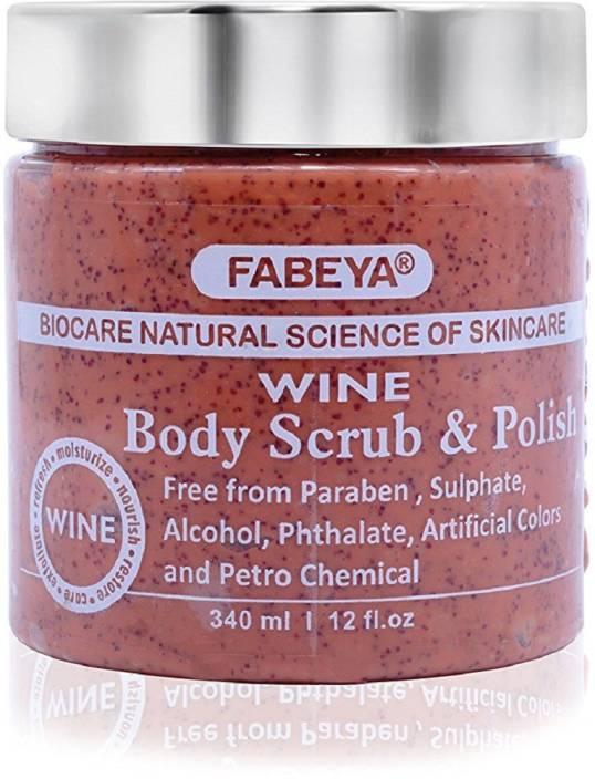 Fabeya BioCare Wine  Scrub