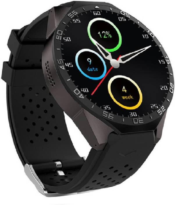 SI Smart watch KW88 Android 5 1 OS 3G Smart Watch Phone w/ 512MB RAM, 4GB  ROM - Black Smartwatch Smartwatch