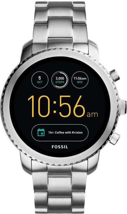 fossil gen 3 q explorist silver smartwatch price in india buy