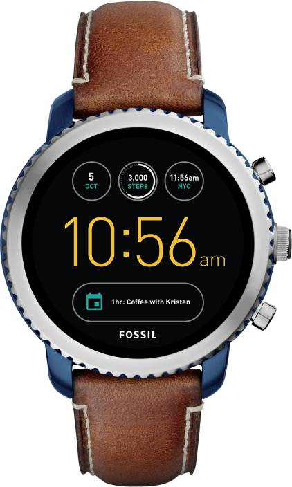 fossil gen 3 q explorist silver smartwatch price in india buy fossil gen 3 q explorist silver. Black Bedroom Furniture Sets. Home Design Ideas