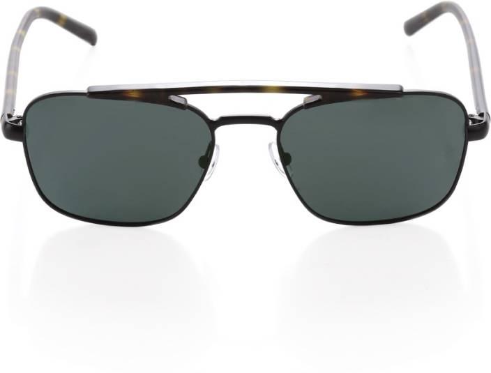 297a438d784 Buy Titan Retro Square Sunglasses Black For Men Online   Best Prices ...