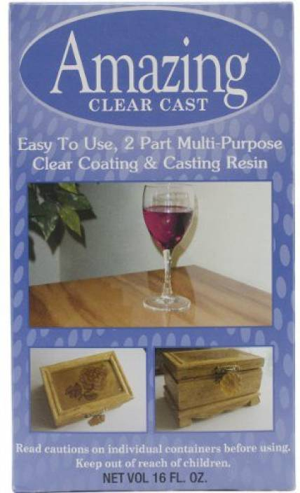 Amazing Casting Products Alumilite Clear Cast 16 Oz