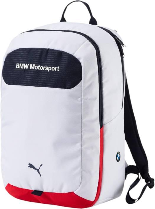 Puma BMW Motorsport 25 L Backpack White - Price in India  2d0137f7b9993
