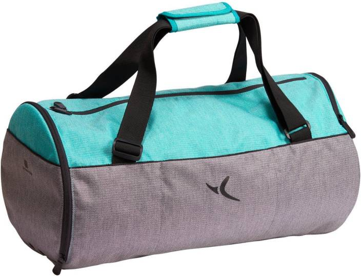 DOMYOS by Decathlon Medium Fitness Gym Bag Grey - Price in India ... 2bdb0a1be77ce
