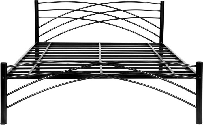 FurnitureKraft Denver Metal Queen Bed