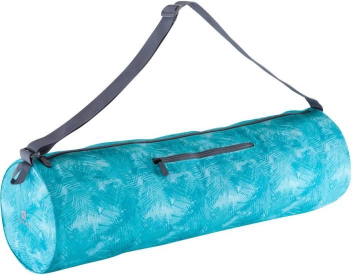 20a6fc313fcdc6 DOMYOS by Decathlon Yoga Mat Gym Bag Blue - Price in India ...