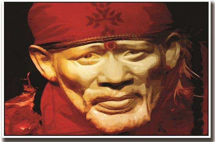 Sai Baba Fine On Good Quality Hd Quality Wallpaper Poster Fine Art