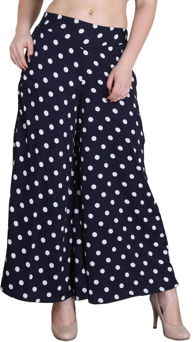 Kannan Regular Fit Women's Dark Blue Trousers