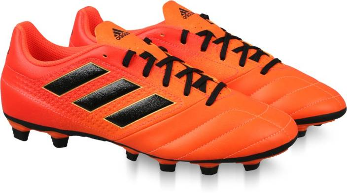 newest 19560 821a3 ADIDAS ACE 17.4 FXG Football Shoes For Men (Orange)