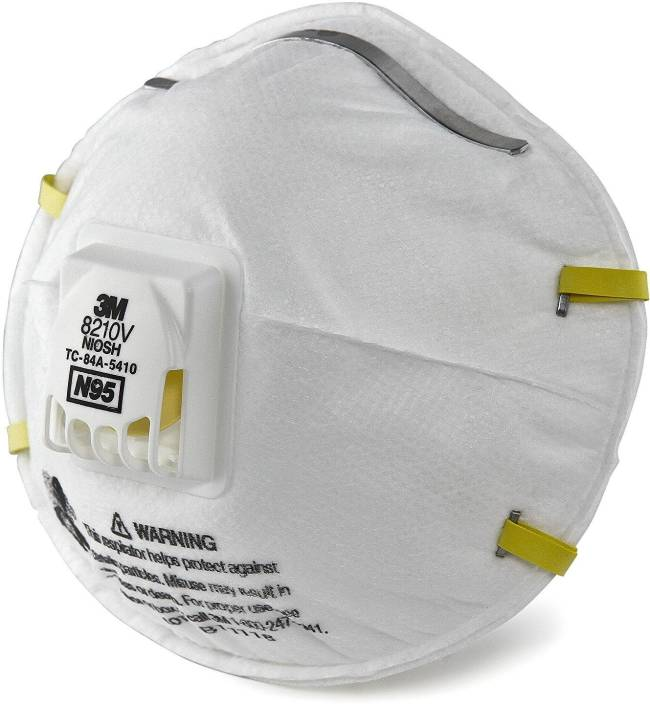 Pollution 8210v N95 Filters And Mask 3m Respirator Clair