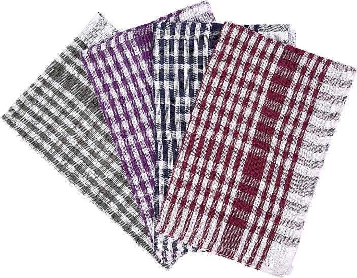 Nostaljia Nostaljia Kitchen Towels Set Of 4 Multicolor Set of 4 Napkins