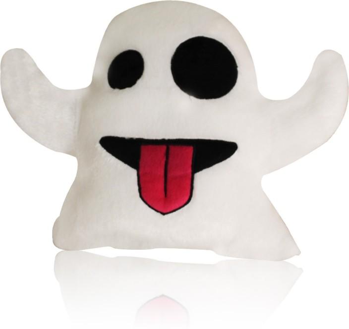Ghost Emoji Keychain