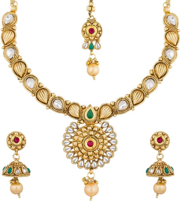 ece770e4d09c AADITA Alloy Jewel Set Price in India - Buy AADITA Alloy Jewel Set ...