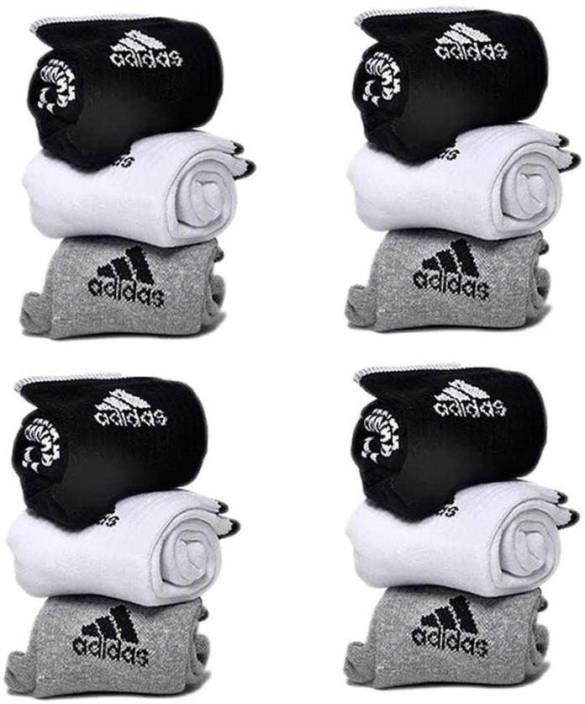 Adidas Men & Women Printed Ankle Length Socks