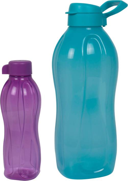 Tupperware Set of 2 (Blue 2 Liter , Purple 500 Ml ) 2500 ml