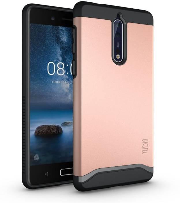 super popular aeba8 b03df Tudia Back Cover for Nokia 8