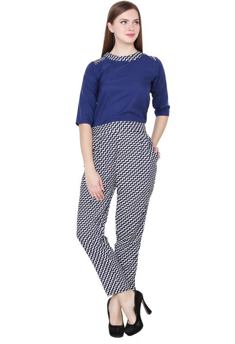 My Swag Printed Women s Jumpsuit - Buy BLUE My Swag Printed Women s  Jumpsuit Online at Best Prices in India  c77c20ebcf