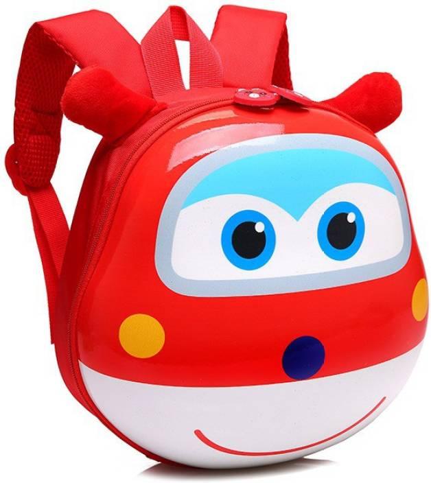 32ccfe7c21 Wishpool 3D Cartoon Kindergarden Backpack Children Bag Mini School Bags For Kids  Bag Girls Boys Cute Kid Backpacks Waterproof Backpack (Red