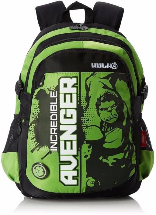 Disney Incredible Hulk School Bag 19 Inches Waterproof School Bag ( Multicolor ccf91cefbfba3