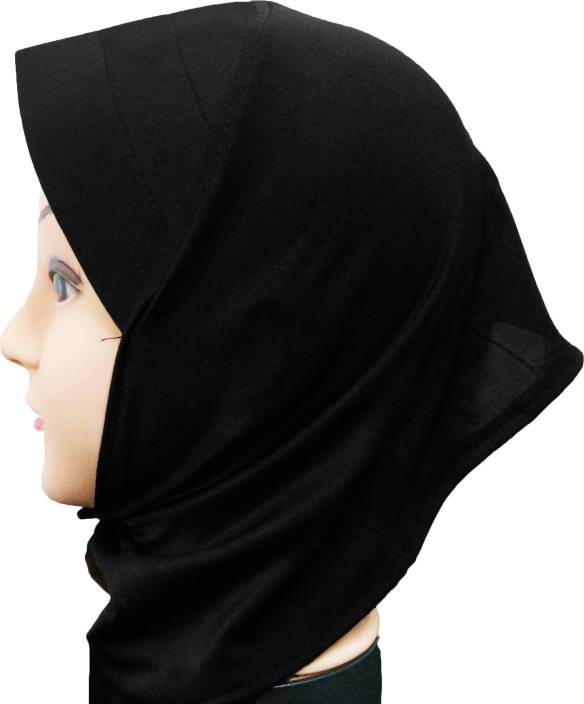 65529abd Cwen Collection Solid Hijab BLACK CANVAS NINJA, Tube Cap Ladies Hat Under  Scarf, Stole Bonnet Head Hair Band Muslim Abaya Cap - Buy Cwen Collection  Solid ...