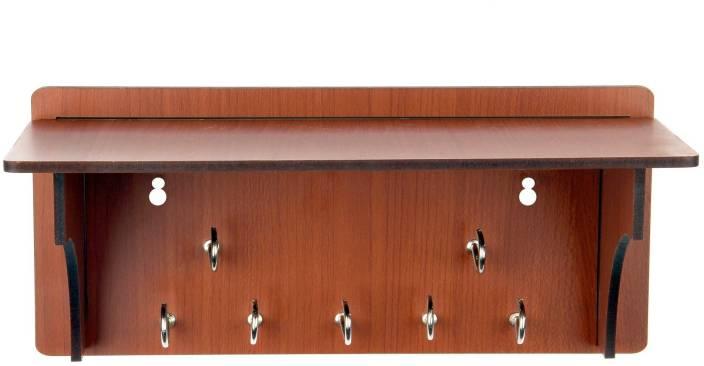 Sehaz Artworks LongShelf Wooden Key Holder