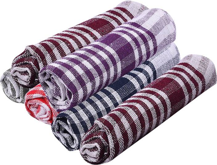 Nostaljia Nostaljia Kitchen Towels Set Of 6 Multicolor Napkins