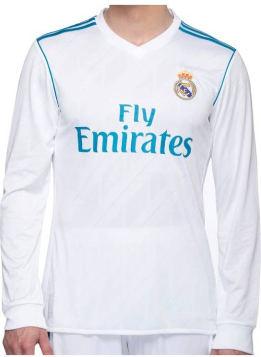 Navex Football Jersey Real MAdrid 2017-18 kit Size-38 Football Kit - Buy  Navex Football Jersey Real MAdrid 2017-18 kit Size-38 Football Kit Online  at Best ... 7194e78be