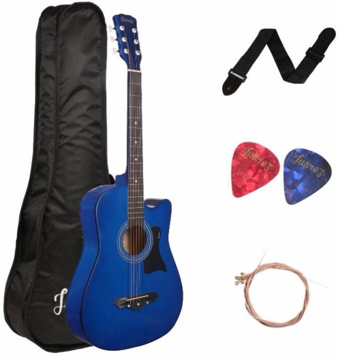 Juarez 38C/BLUE Linden Wood Acoustic Guitar
