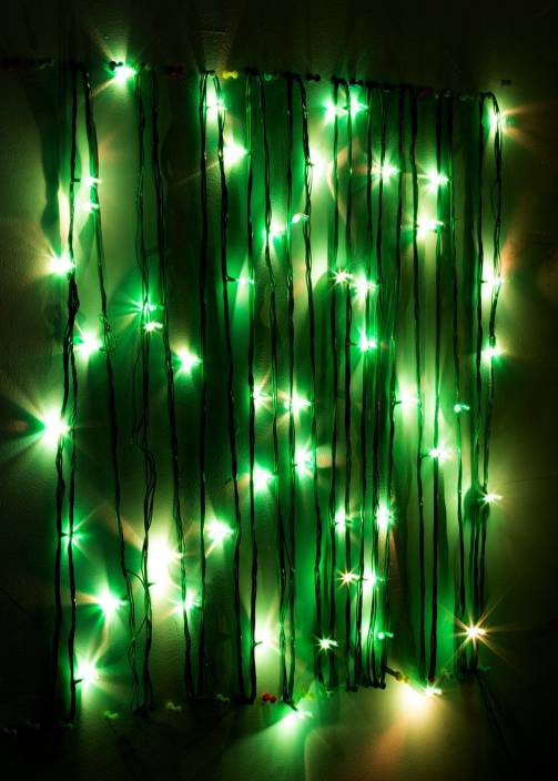Little India 400 inch Green Rice Lights