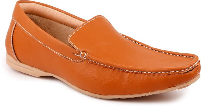 True Soles Tan Loafers Loafers For Men