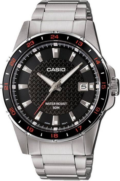 Casio A413 Enticer Men Watch  - For Men