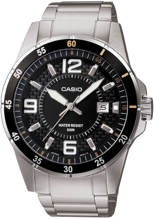 Casio MTP-1291D-1A2VDF Enticer Men Watch  - For Men