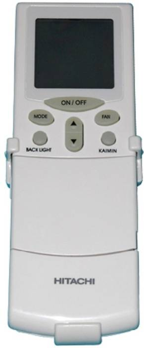 Technology Ahead Hitachi AC Hitachi AC GENIUNE REMOTE WITH BACKLIGHT AND TIMER Remote Controller