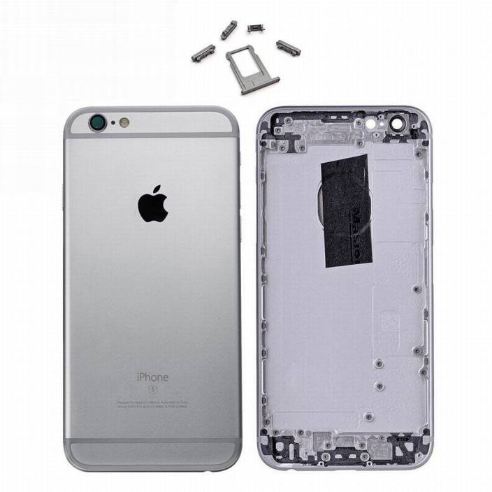 buy popular f7f0a 93ef4 eShop24x7 Apple iPhone 6S Space Grey Replacement Housing Body Back ...