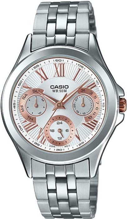 Casio A1064 Enticer Ladies Watch  - For Women