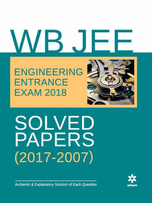 WB JEE Engineering Solved Paper 2018