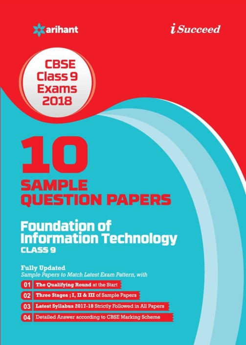 10 Sample Question Papers Foundation of Information Technology Class 9th CBSE  (English, Paperback, Suchi Goel)