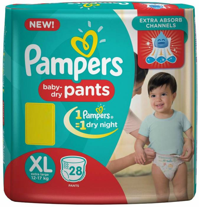 Pampers Pants Diapers - XL