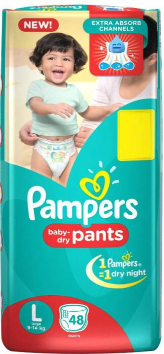 Pampers Baby Dry Pants - L