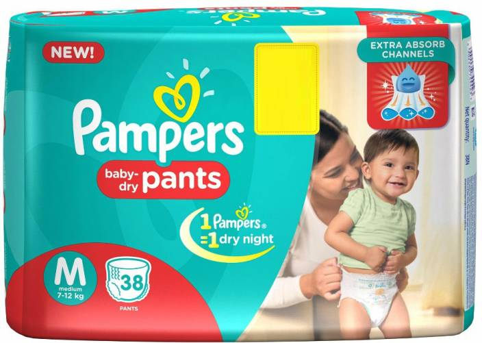 Pampers Pants Diapers - M