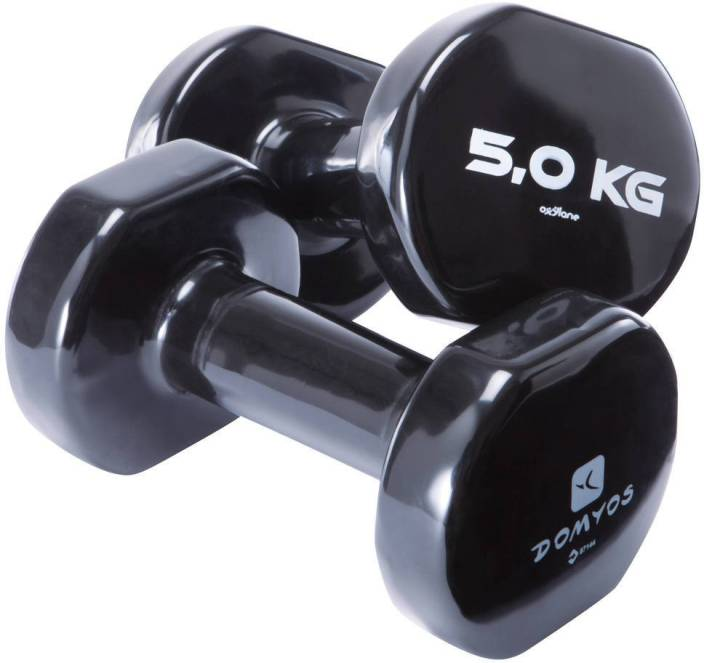 849c9ee5f66e1 DOMYOS by Decathlon PVC Twin Pack Fixed Weight Dumbbell - Buy DOMYOS ...