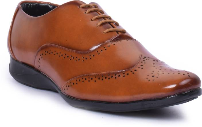 Foot n Style Lace Up Shoes For Men
