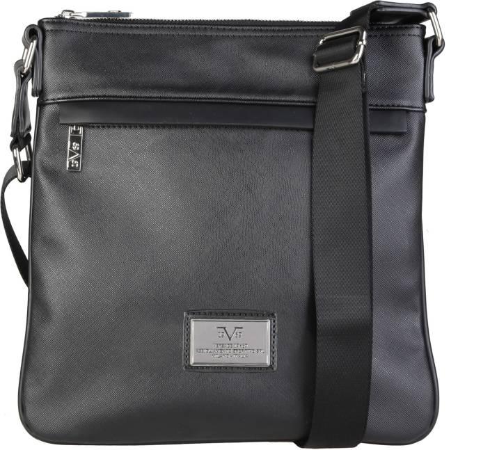 3e750fde05 Versace 19.69 Italia Men Casual Black Genuine Leather Sling Bag (Imported)