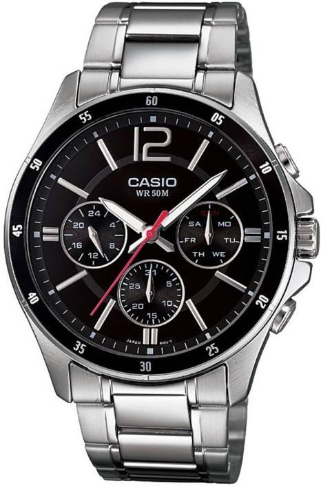 Casio A832 Enticer Men Watch  - For Men