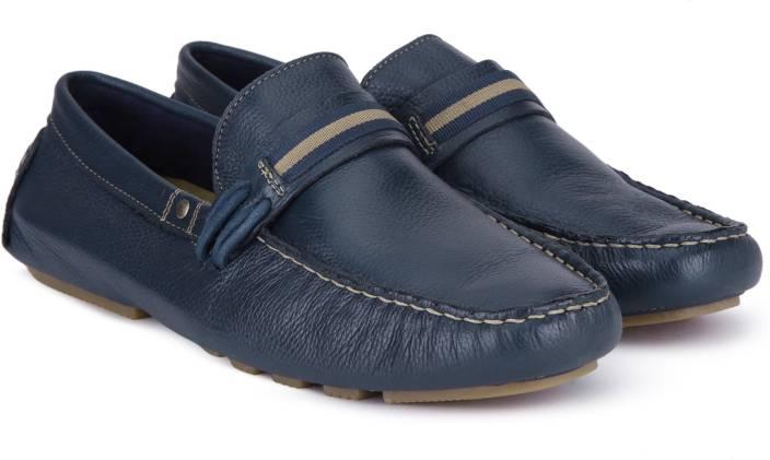 a0d150056a6 Steve Madden Loafers For Men - Buy NAVY LEATHER Color Steve Madden ...