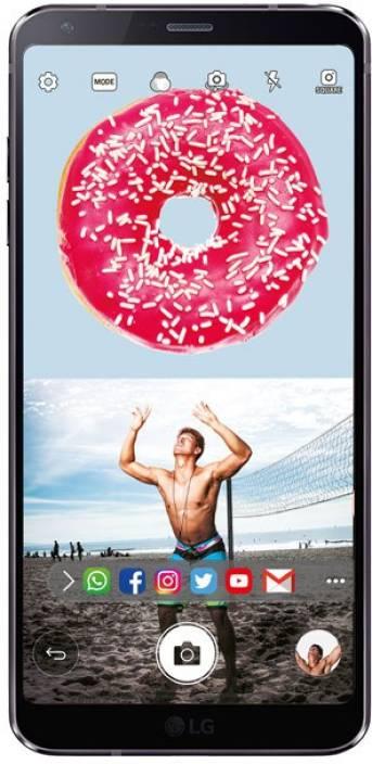 LG G6 (Black, 64 GB)