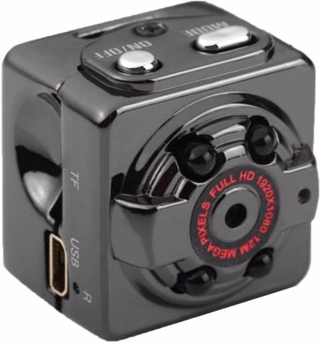 Techie & Trendy Full HD 1080P SQ8 Point and Shoot Camera