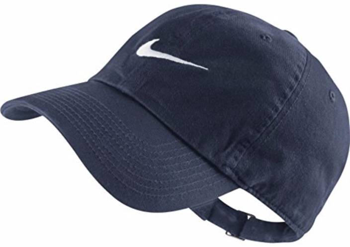 Nike Solid Navy Blue Swoosh Cap - Buy Nike Solid Navy Blue Swoosh Cap  Online at Best Prices in India  90179a08289