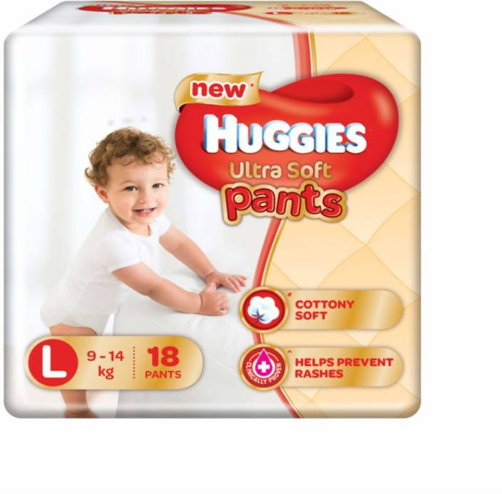 Huggies Ultra Soft Large Size Premium Diapers - L