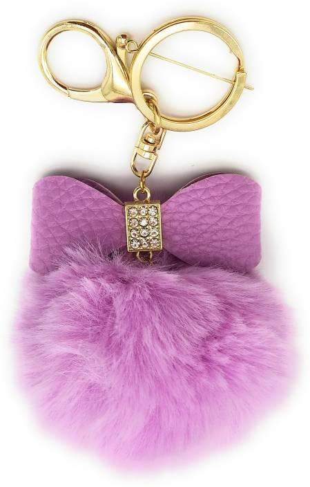 Gemmas Fashion Big Bow   Pom Pom Key Chain Price in India - Buy Gemmas  Fashion Big Bow   Pom Pom Key Chain online at Flipkart.com 1665c07eb